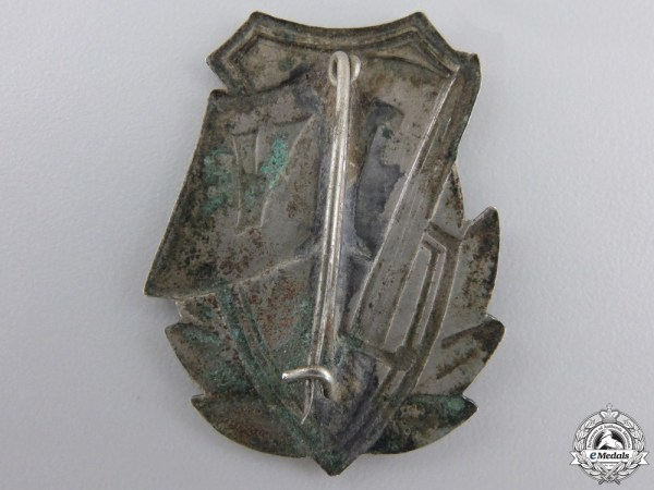 A 1948 Romanian Tudor Vladimirescu Regimental Badge