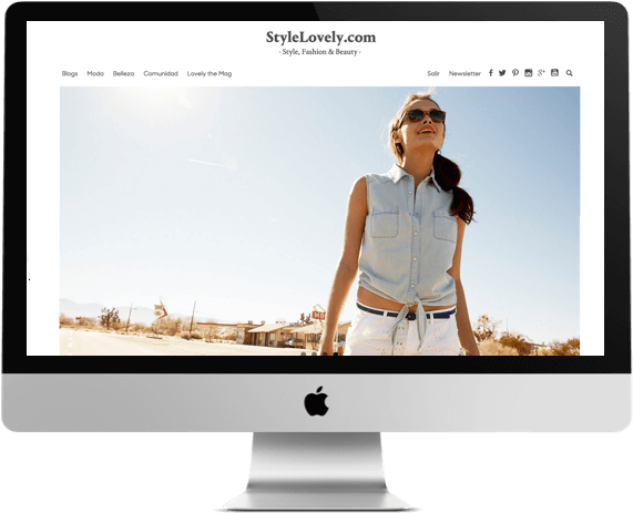Nueva web de StyleLovely.com