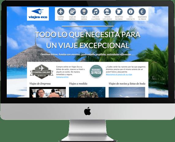 Web de Viajes Eco