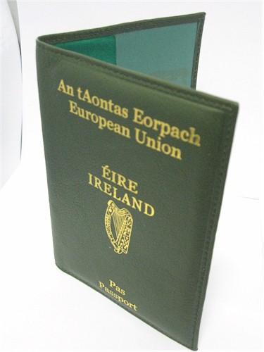 Passport  Driving Licence Wallets  Dark Green Irish