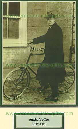 Michael Collins  Michael Collins On Bicycle Portrait