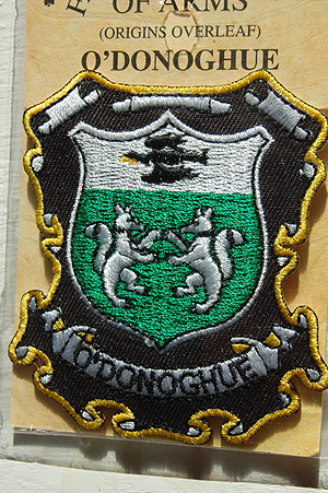 Embroidered Heraldic Patches  ODonoghue Embroidered Patch  Coat of Arms