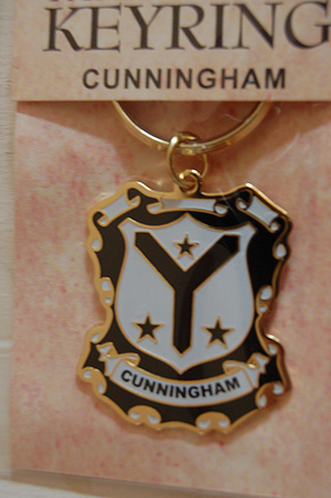 Keyrings  Family Coat of Arms  Cunningham Keyring Keychain  Coat of Arms