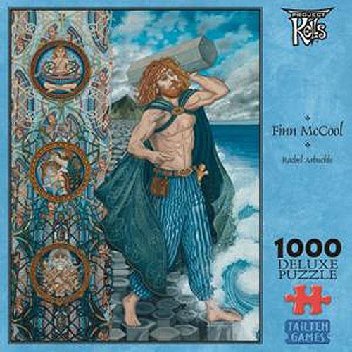 Rachel Arbuckle  Celtic Art  Finn McCool Jigsaw Puzzle