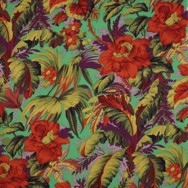 Kaffe Fassett Collective Tropical Emerald Fabric