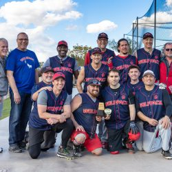 Seattle Wolfpack winning the 4th place trophy at the 2019 Palm Springs Winter Classic