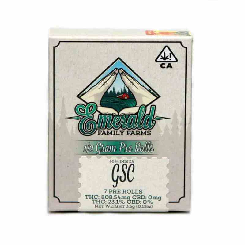Packs of G.S.C. Joints, girl scout cookies joint packs