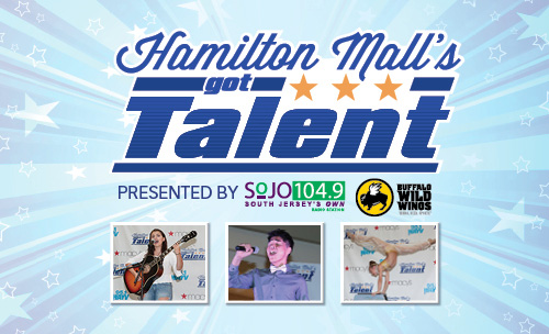 Hamilton Mall's Got Talent Banner