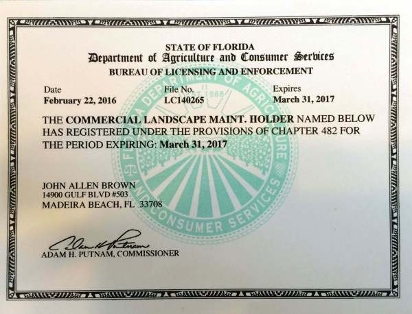 certifications emerald lawn