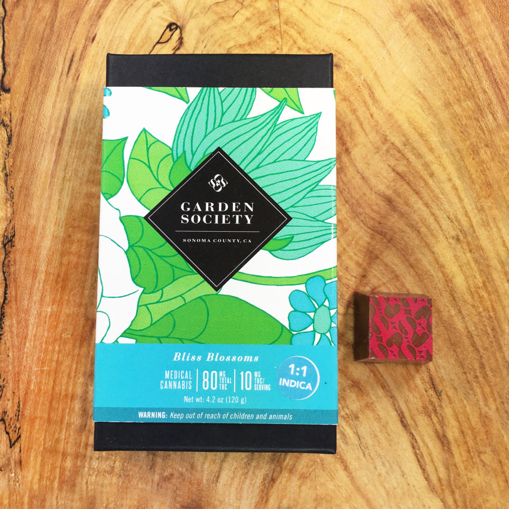 Review Garden Society Bliss Blossoms Milk Chocolate The