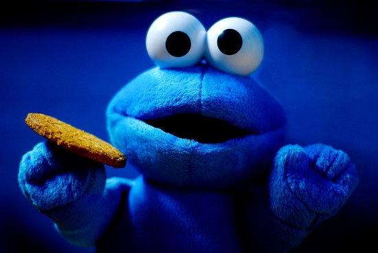 Cookie Monster Cute Wallpaper Omkering Bewijslast Bizar Onderdeel Van De Cookieregels