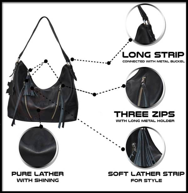 Front-Side-Features-ladies-bag-labeled