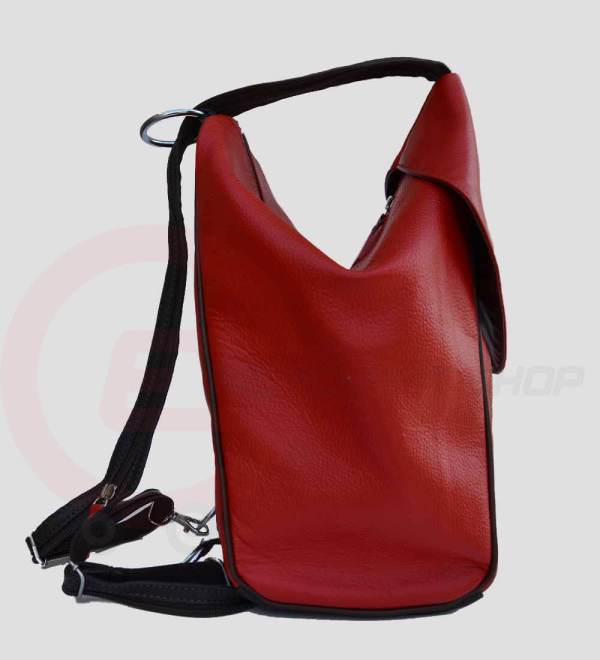 Student-Leather-Backpack-Red-Side-View