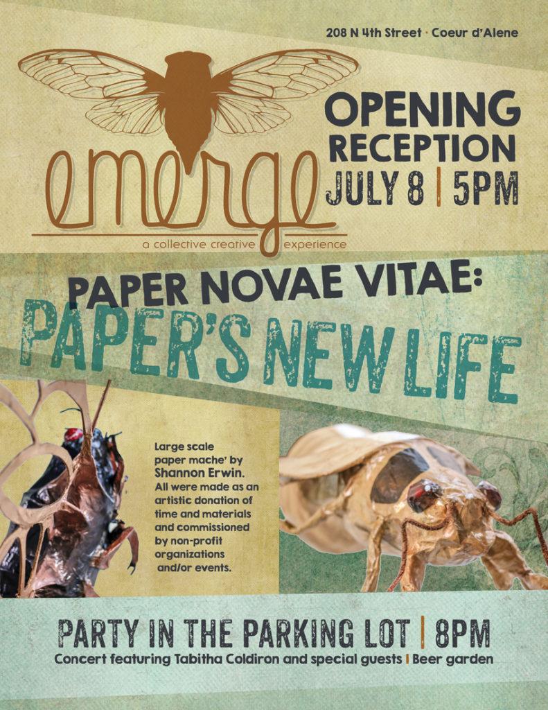 Paper Novae Vitae Poster