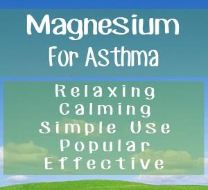 magnesium-asthma