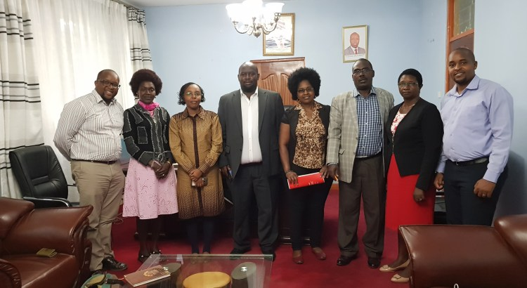 Nakuru County Health Committee committing to Project 47