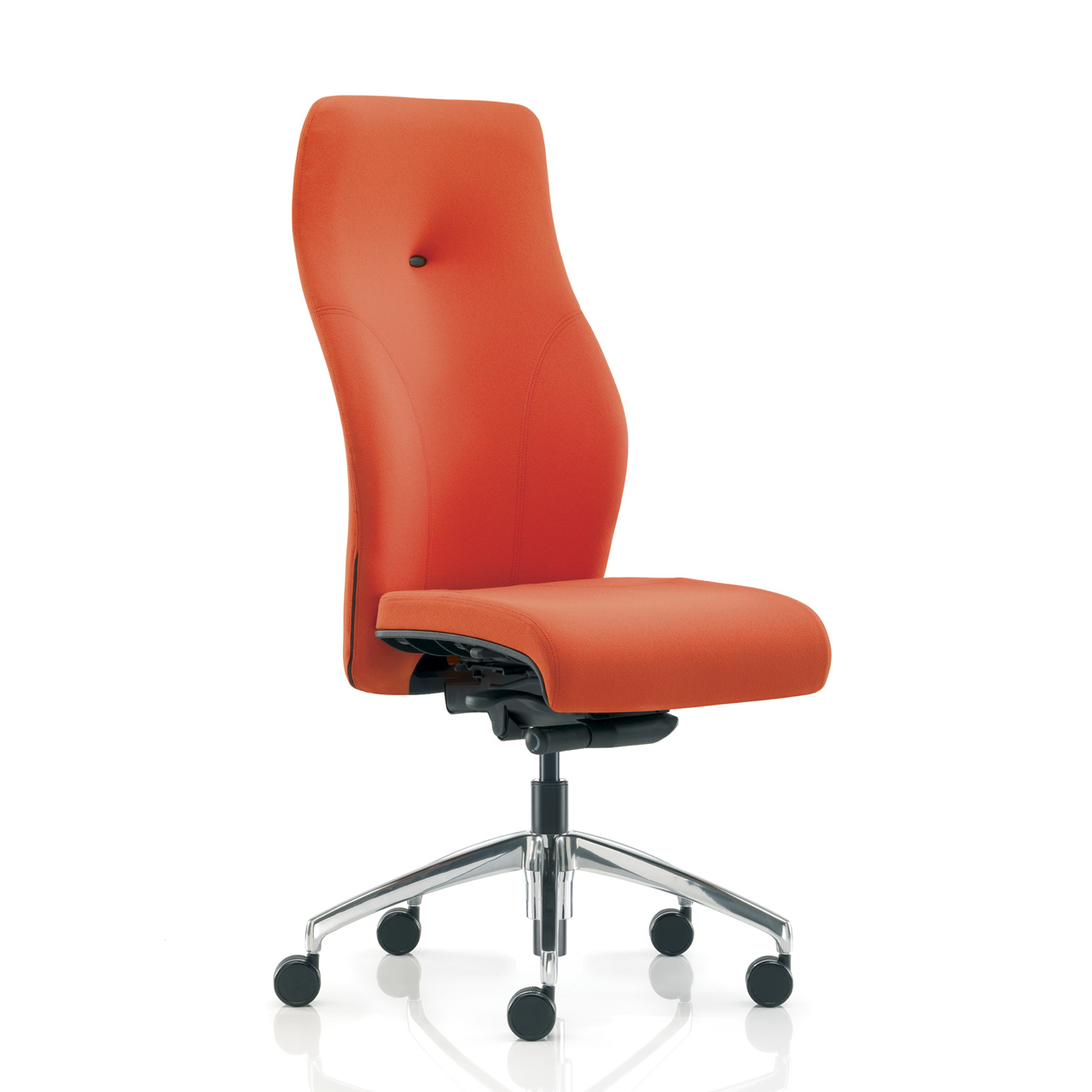 task chair without arms wing back emergent crown