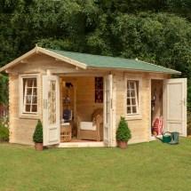 Log Cabin Garden Shed