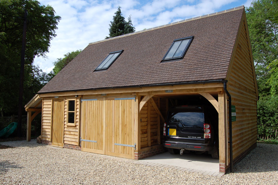 A Timber Garage Could Improve Your Home Garden And Your