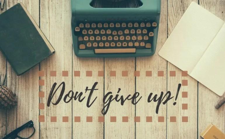 Alla ricerca della perseveranza perduta…