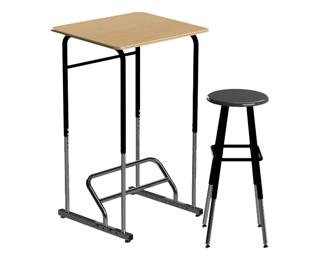 Take a Stand for Creativity Students and Standing Desks