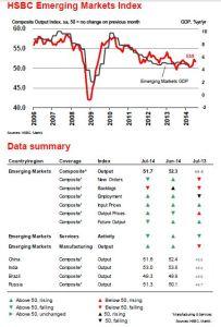 Emerging Market Skeptic - HSBC Emerging Markets Index (July 2014)