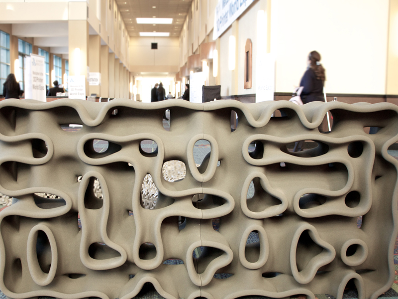 Involute Wall  Emerging Objects