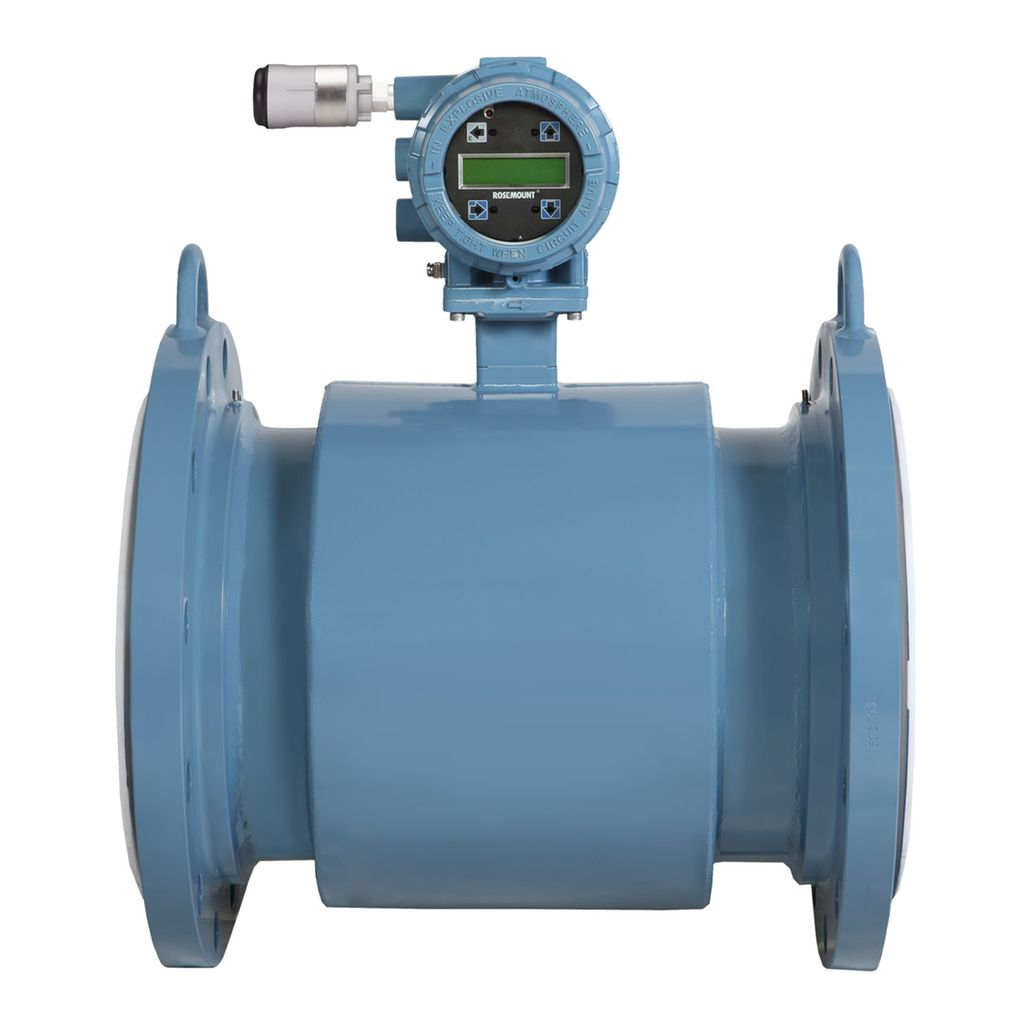 hight resolution of rosemount 8750w magnetic flow meters for utility water applications