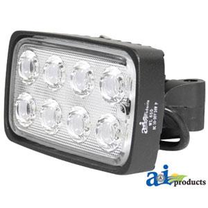 WL650 - Work Lamp LED Rectangle Trapezoid 1600 Lumens