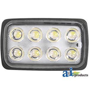 Work Lamp LED Rectangle Trapezoid 1600 Lumens WL650