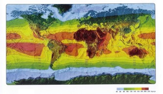 UV Radiation Map