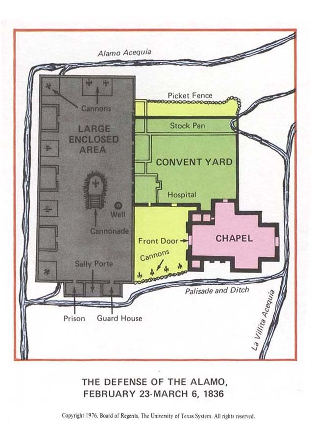 Original Alamo Floor Plan