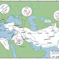 Map of the conquests of alexander the great 336 323 bc