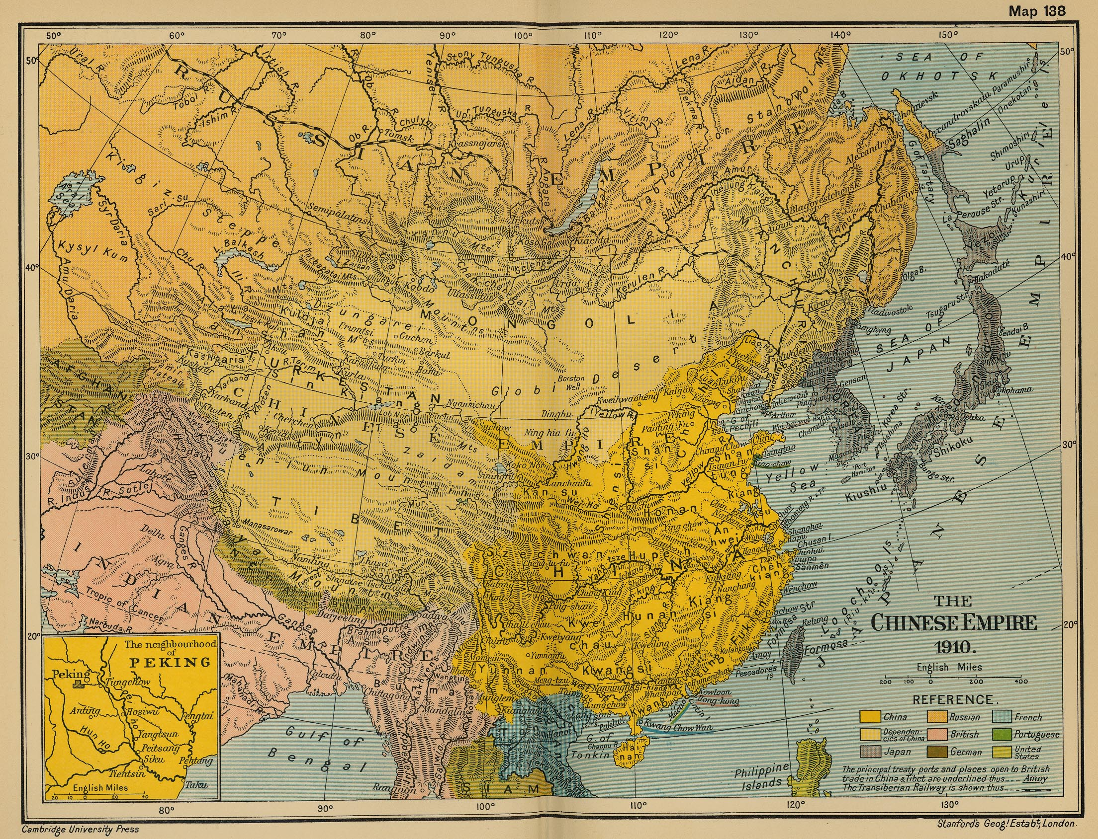 Map Of China In