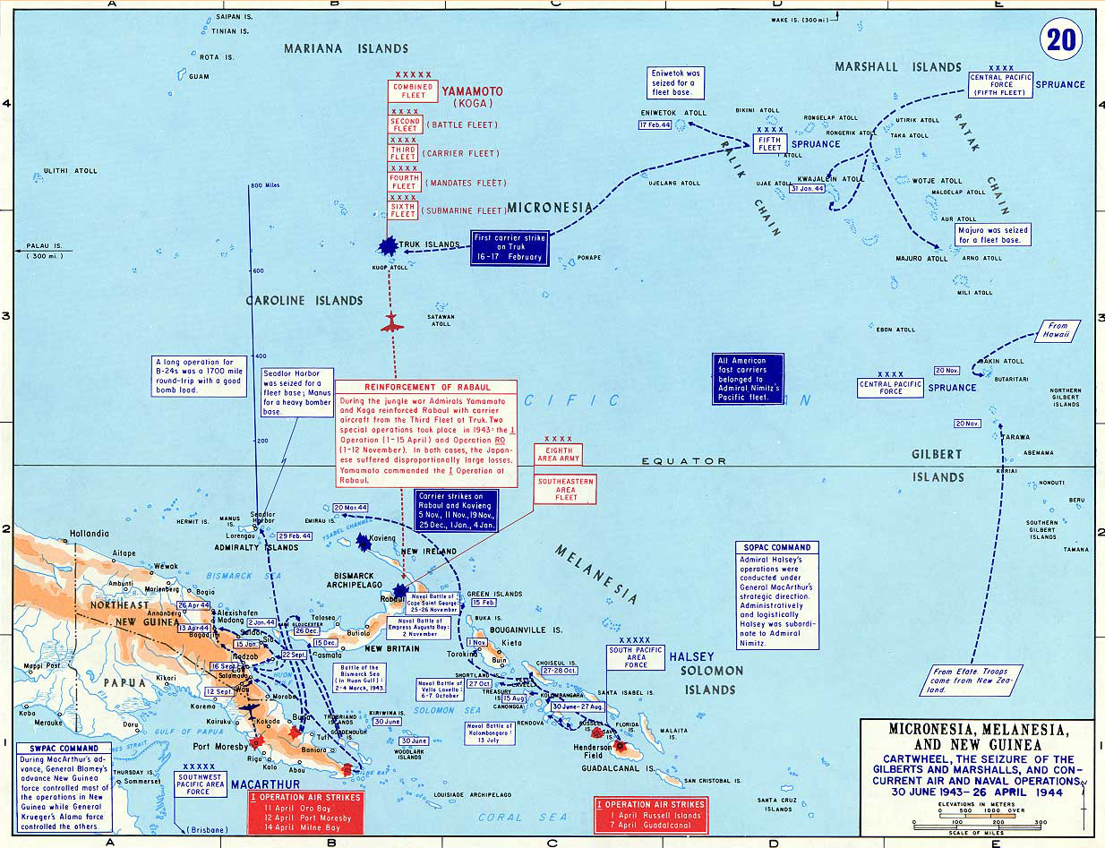 Map Of Wwii The Pacific June