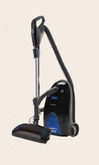 MC-CG957 Panasonic Plush Pro Canister Vacuum for Soft ...
