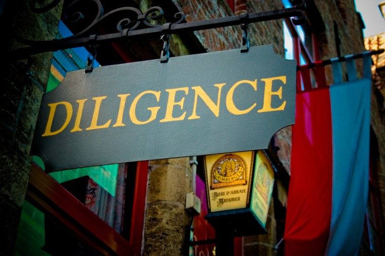 Diligence os one Key to Keep from Falling