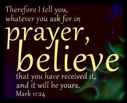 Why Praying in Faith Means to Believe You Receive