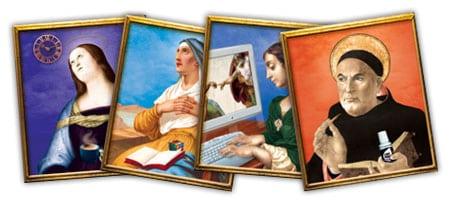 santos patronos diseño grafico graphic design saint