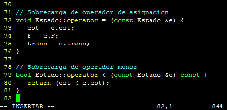 vim vi editor sintaxis syntax on