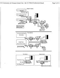 EMG Pickups / Top 10 EMG Wiring Diagrams / Electric Guitar