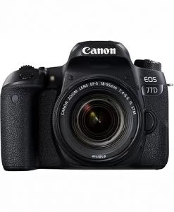 Canon EOS 77D 24.2MP Digital SLR Camera on EMI