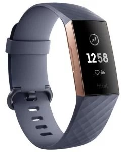 Fitbit Fitness Watch On EMI-Charge 3 Tracker