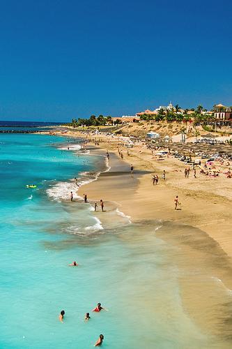 Playa del Duque - într-o zi foarte bună