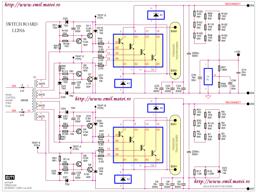 small resolution of  igbt switch board schematic diagram of welding inverter lincoln invertec v275 s code 10993
