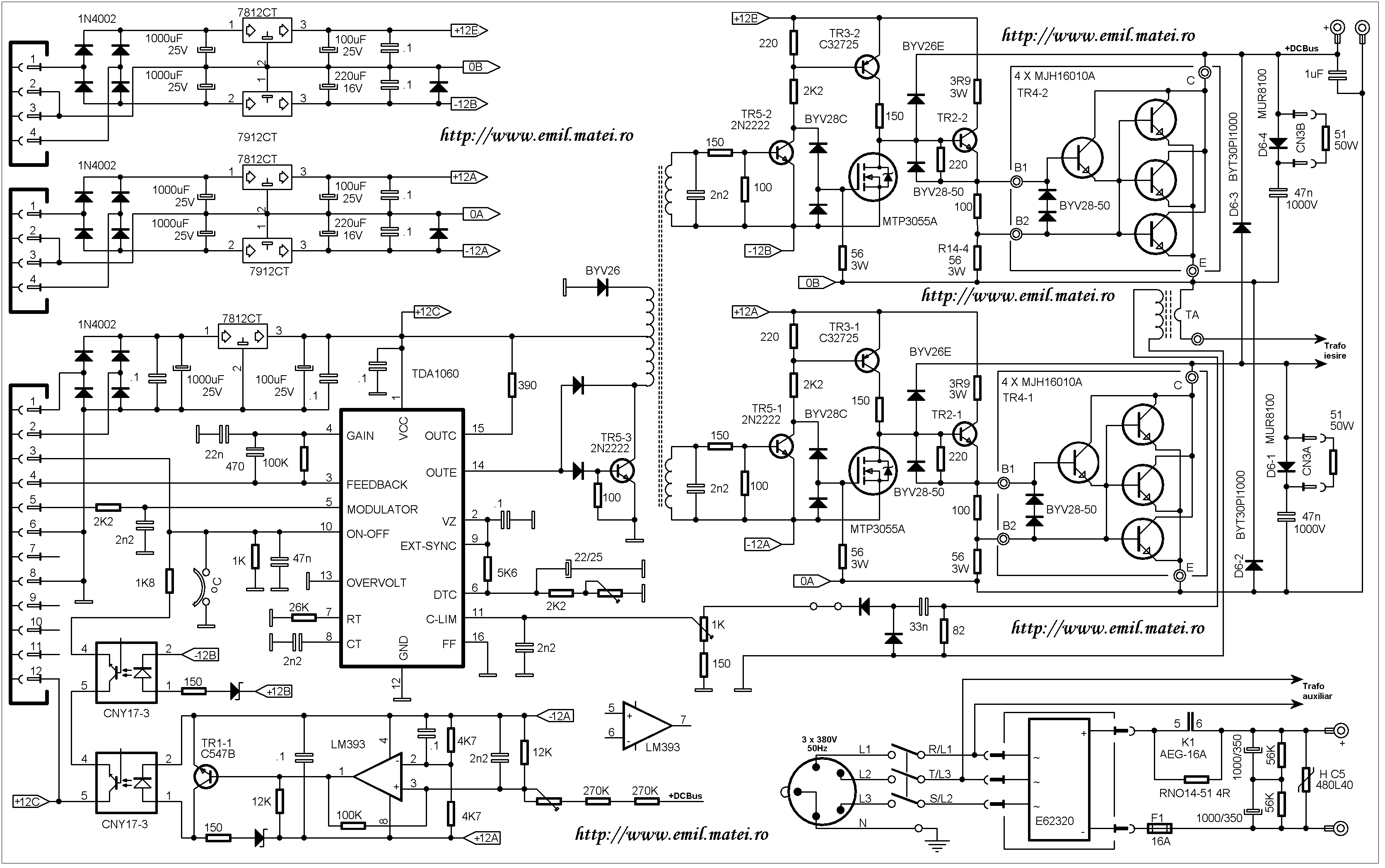 Welding Inverters Practical Schematics