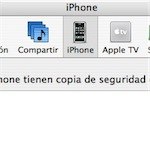 iPhone en iTunes