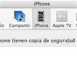iPhone en iTunes