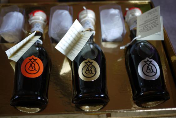 3 bottles of traditional balsamic vinegar
