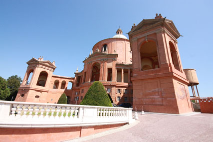 Bologna - The church of San Luca